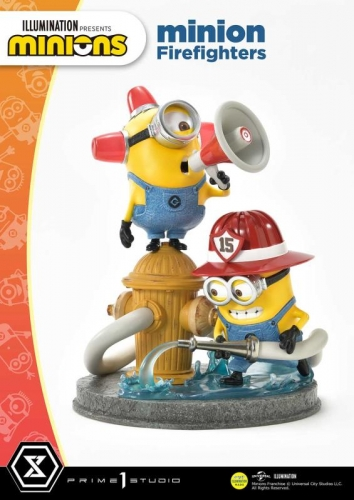 (Pre-order)Minion Firefighters Statue By Prime 1 Studio