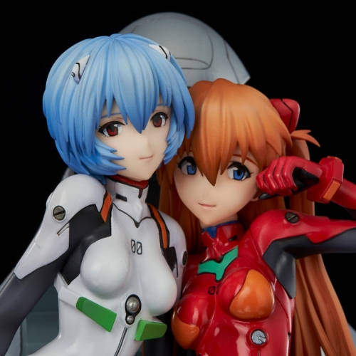 (Pre-order)Union Creative UC Neon Genesis Evangelion Rei & Asuka twinmore Object Figures