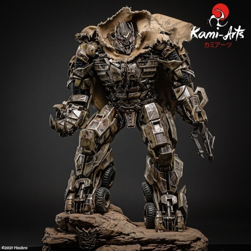 (Pre-order)Transformers 3 Megatron 1/4 Scale Statue By Kami-Arts