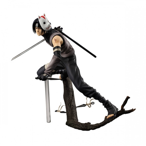 (In Stock)MegaHouse G.E.M. Naruto Shippuuden Uchiha Itachi 1/8 Anbu ver. (One corner of the box has minor damaged)