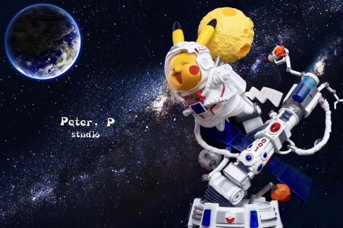 (Pre-order)Pikachu Astronaut Ver. Statue By Peter.P Studio