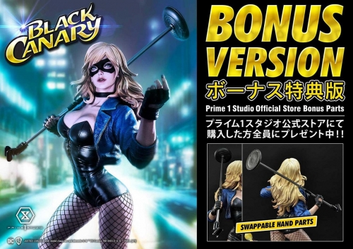 (Pre-order)Exclusive Version with Bonus DC Comics Black Canary 1/3 Scale Statue By Prime 1 Studio(due on 19th March)