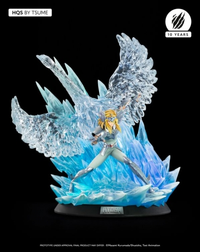 (Sold Out)Saint Seiya Cygnus Hyoga 1/6 Scale HQS Statue By Tsume