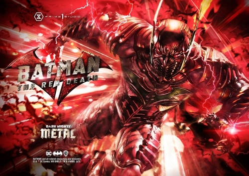 (Pre-order)EX Ver. Dark Nights: Metal (Comics) The Red Death 1/3 Scale Statue By Prime 1 Studio
