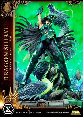 (Pre-order)Regular Ver. Saint Seiya Dragon Shiryu Final Bronze Cloth 1/4 Scale Statue By Prime 1 Studio