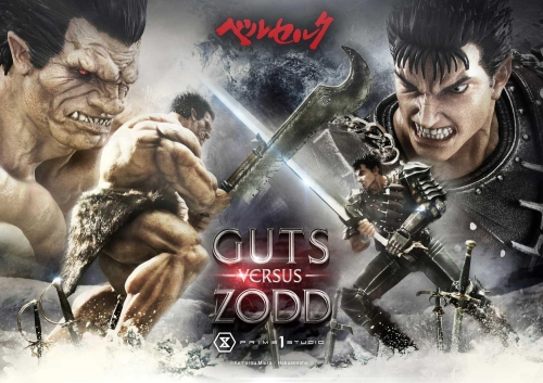 (Pre-order)Regular Version Berserk Guts versus Zodd 1/6 Scale Statue By Prime 1 Studio