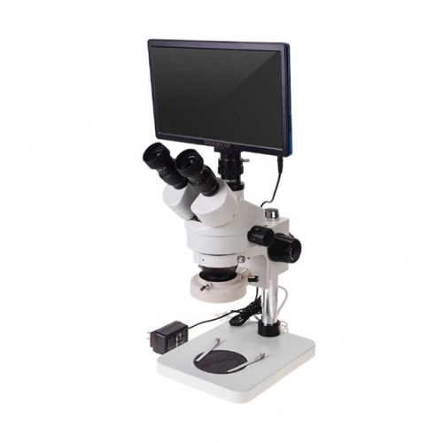 1080P Electron HDMI Stereo Trinocular Microscope