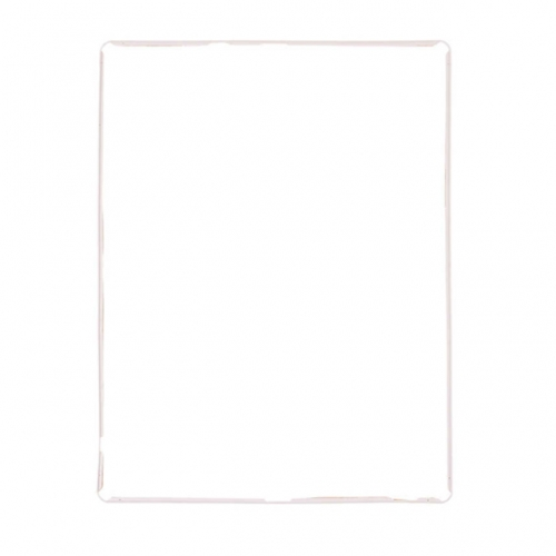 For Apple iPad 3/4 Front Bezel With OCA Glue Sheet - White - AA