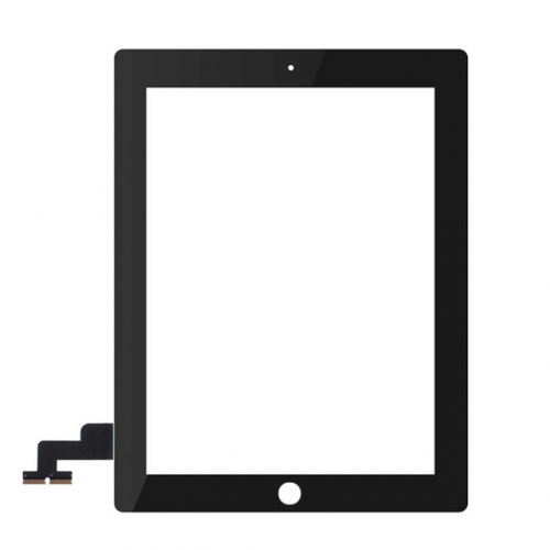 For Apple iPad 2 Touch Screen Digitizer Assembly - Black - S+