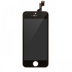 For Apple iPhone 5s/SE LCD Display and Touch Screen Digitizer Assembly With Frame Replacement - Black - A+ Grade