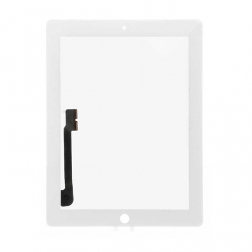 For Apple iPad 3 Touch Screen Digitizer Assembly - White - S+