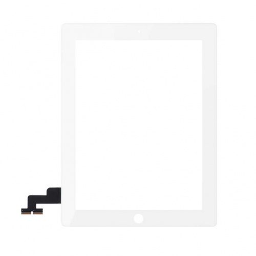 For Apple iPad 2 Touch Screen Digitizer Assembly - White - S+