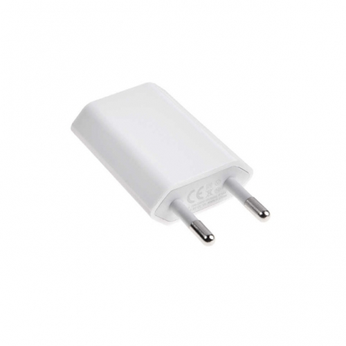 5W USB Power Adapter Europe Version for Apple iPhone - A+