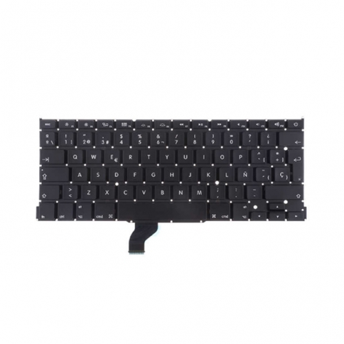 For MacBook Pro Retina 13 Inch A1502 (2013-2015) SP Layout Keyboard Replacement - AA