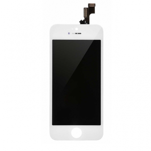 For Apple iPhone 5s/SE LCD Display and Touch Screen Digitizer Assembly With Frame Replacement - White - A+ Grade