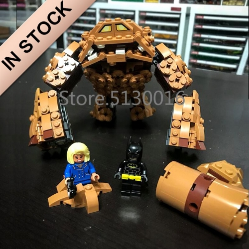 In stock 07050 Batman Movie The Rock Clayface Splat 469Pcs Building Blocks Compatible with 70904 Bricks DC Christmas Gifts