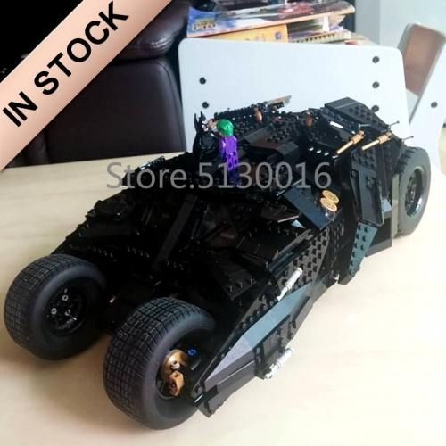 07060 In Stock Super Heroes Series The Tumbler 76023 Building Blocks 1800+Pcs Batman Armored Compatible Children Toys Movie