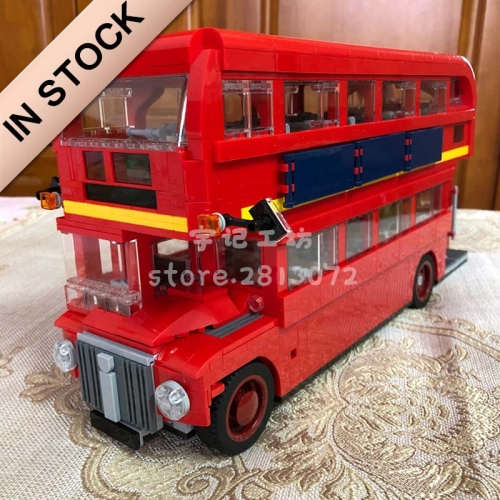 In stock 21045 1686pcs City Creator London Bus Building Block Bricks Toy 10258 DIY Toys Children Gifts