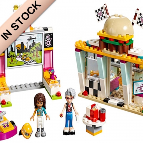 In Stock Girls Friends Series Drifting Diner Building Block Brick  345PCS 41349 01070 1157 11038