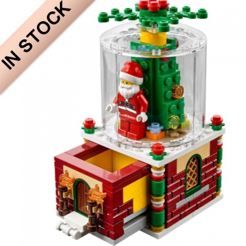In Stock Snow Globe Building Blocks Bricks  40223  36004  49006  215pcs