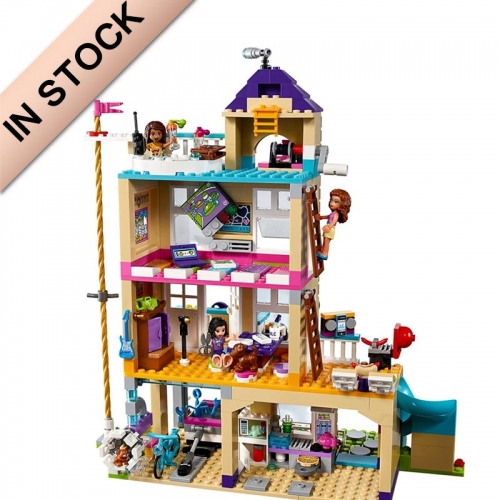 41340 Friendship House In Stock 10859  722Pcs Building Blocks Bricks Toys Girl friends series 01063 SY1006 3012 10859  97021