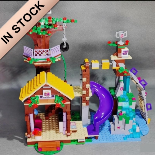 In Stock Girls Friends Series Adventure Camp Tree House  Building Block 726 PCS  41122  01047  01004  SY832  10497  3019