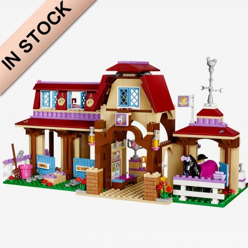 10562 BELA Friends Series Heartlake Riding Club Model Building Block 592pcs Bricks Toys  With Friends   41126