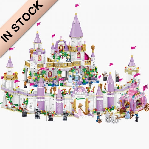In Stock Girls Friends QL1106 731PCS Building Blocks Windsor Castle Bricks 41148 Toys for Girl Christmas Gift