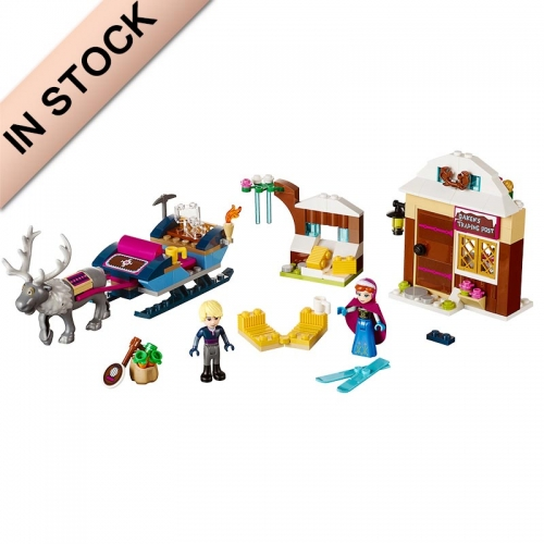 In Stock Girls Friends Series Anna & Kristoff's Sleigh Adventure  Building Blocks 174 PCS  41066  79276  SY372  10666