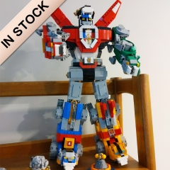 In Stock 16057 Ideas Voltron Defender of The Universe Model 2334Pcs Building Block Bricks Toys 21311 39125 83034