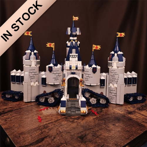 1699PCS Dragoon War Mobile castle Wargod Castle assembled toy blocks model  building blocks bricks MOC Toys 81011