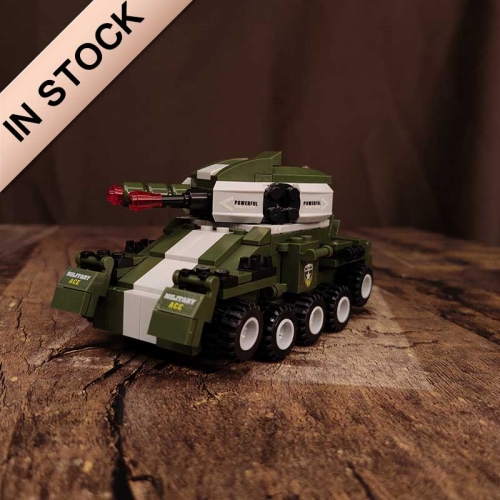 486PCS 6in1 Army Military War Leopard II Main Battle Tank Large Model Soldier building blocks Action Figures gift for boys Toys building blocks bricks