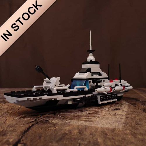 472 Pcs 6in1 Cruiser Army Military Frigate Building Blocks Creator Bricks Battle War Ship Classic Navy Vessel Boat Brinquedo Kids Toys building blocks