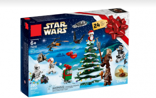 IN Stock 75245 11444 Advent Calendar Star War Building Blocks Bricks Toys Moc Model Figures
