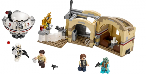 In Stock Mos Eisley Cantina  Yoda's Hut Ahch-To Island Training 223 PCS Building Block Brick moc toys gifts 10903 10904 10905  75200 75208 75205