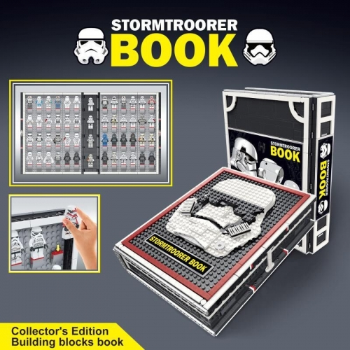 In Stock j13003 Stormtrooper Book  2480 pcs Star Wars Model Building Blocks  Toys 05007