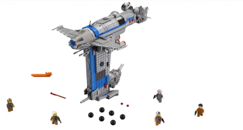 In Stock Resistance Bomber 10914 778pcs  Star Wars Model Building Blocks Toys 05007 Star Wars moc 05129  75188
