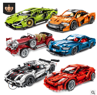 In stock  City Creator Racing car  1:14 Building Block Bricks Toy 10258 DIY Toys Children Gifts 21046 21047  701351 701023