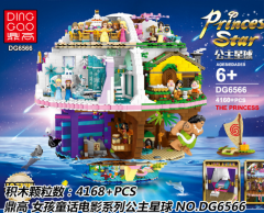 Pre-sale Girls FriendsHeartlake DG6566 The P-rincess Star Building Block Brick 4146 PCS  41101  3040 01045 MOC Gifts