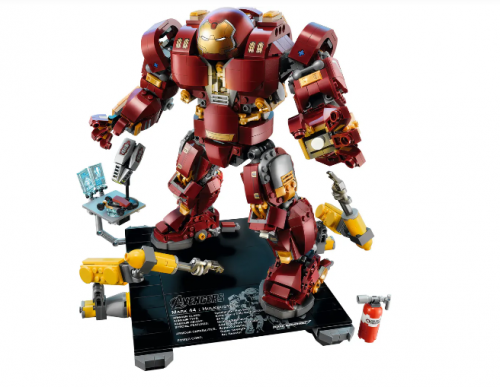 In stock 07102 The Hulkbuster: Ultron Edition 1363Pcs Building Blocks Compatible 76107 Bricks Super Heroes Avengers