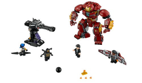 In stock 07102 The Hulkbuster Smash-Up 375Pcs Building Blocks Compatible 76107 Bricks Super Heroes Avengers