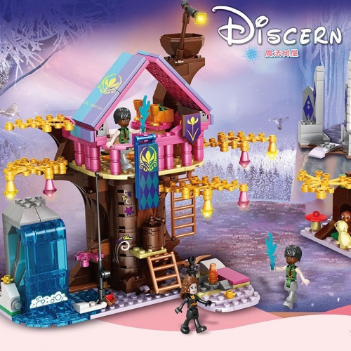 In Stock Girls Friends D iscern Building Block Brick 526 PCS  41375 86065  MOC Toys Gifts