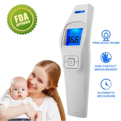 Forehead Thermometer for Kids and Adults,Non-Contact Temperature thermometer Forehead Ear (T2)