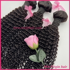100% Virgin hair 10A quality hair kinky curly 1 pc