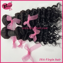 100% Virgin hair 10A quality hair deep curly 1 pc