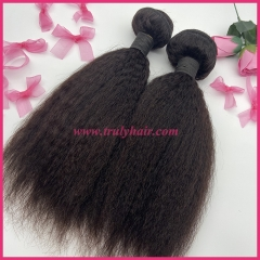 100% Virgin hair 10A quality hair kinky straight 1 pc