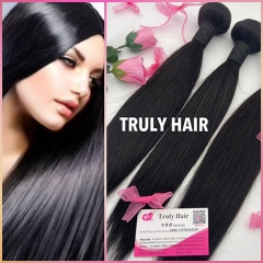 10A 100% human hair natural straight 1 pc