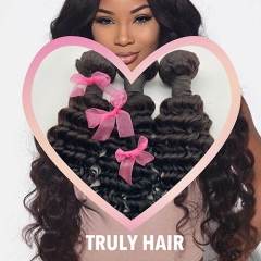 10A 100% human hair deep wave 1 pc