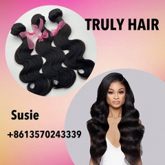 10A 100% human hair body wave 1 pc