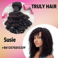 10A 100% human hair Jerry curl 1 pc